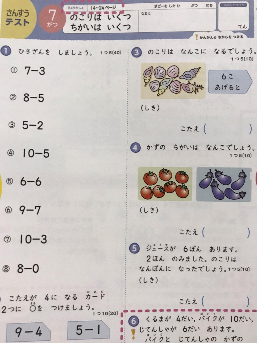 小学生向けポピー テスト